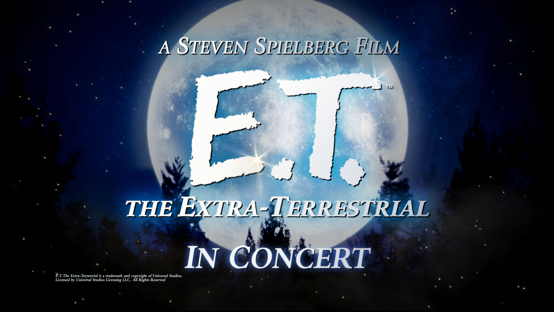 West Virginia Symphony Orchestra: E.T. the Extra-Terrestrial, Movie with Live Orchestra